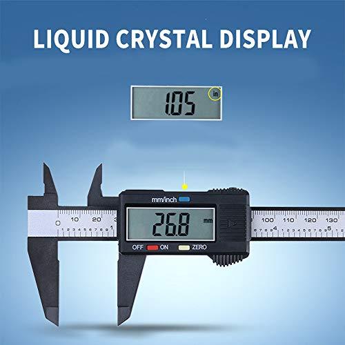 per 150mm / 6inch LCD Digitale Elektronische Kohlefaser Messschieber Mikrometer ()