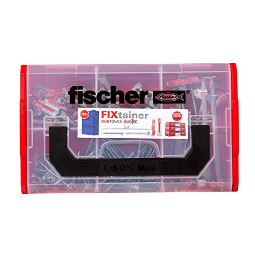 Fischer Fixtainer Taco Duopower Duotec + Tornillo/Maletín