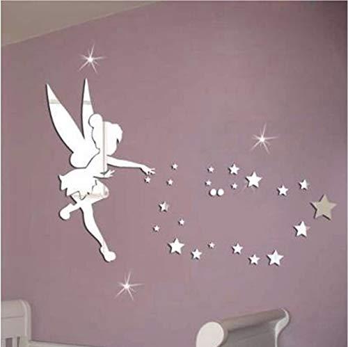 Fushoulu Kreative Engel Stil Acryl 3D Spiegel