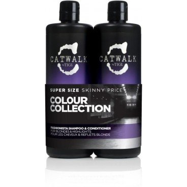 Tigi Catwalk Fashionista Duo Pack (Shampoo 750ml und Conditioner 750ml)