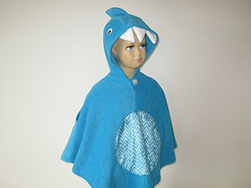 lloween kostüm cape für kleinkinder hai (Jungen Hai-kostümen)