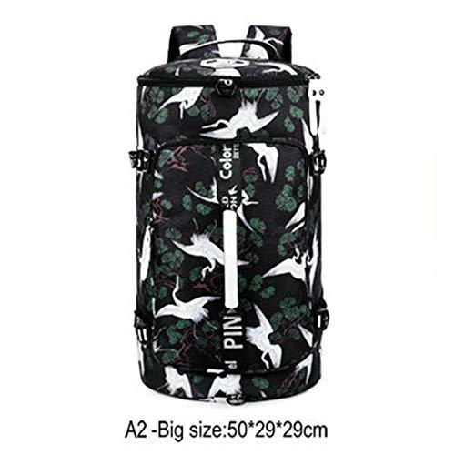 Camouflage Gym Backpac Outdoor Sport Rucksack Mädchen Printing Fitness Umhängetasche A2 (Jordan Schuhe Rucksack)