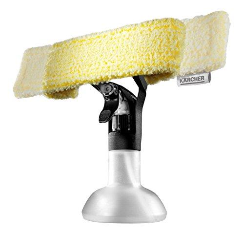 Kärcher 2.633-129.0 Pulvérisateur 2 en 1 + grattoir accessoire pour nettoyeurs de vitres
