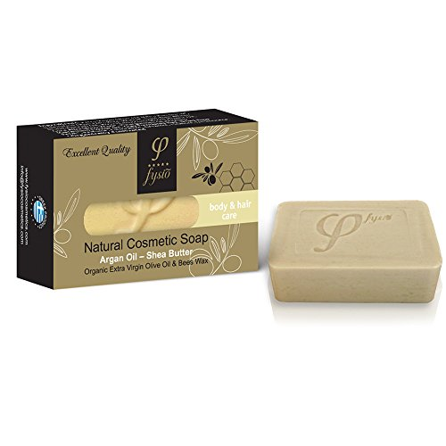 olive-oil-soap-bar-with-argan-oil-shea-butter-for-body-hair-care-100gr-a-bar-of-soap