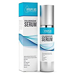 Hyaluron Serum hochkonzentriert - Anti Aging Serum mit 2x Hyaluronsäure, Aloe Vera, Gurkenextrakt, Vitamin B5, B3, Glycerin, Urea - Alle Hauttypen, 50ml Naturkosmetik, Hergestellt in Deutschland