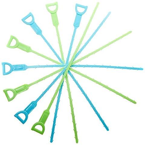 Abfluss-Schlange, damit Ihr Abfluss wieder fließt! Das einfachste Werkzeug, um Ihren verstopften Abfluss zu befreien und teure Klempner-Besuche zu vermeiden. Umweltfreundliche Abfluss-Reinigung