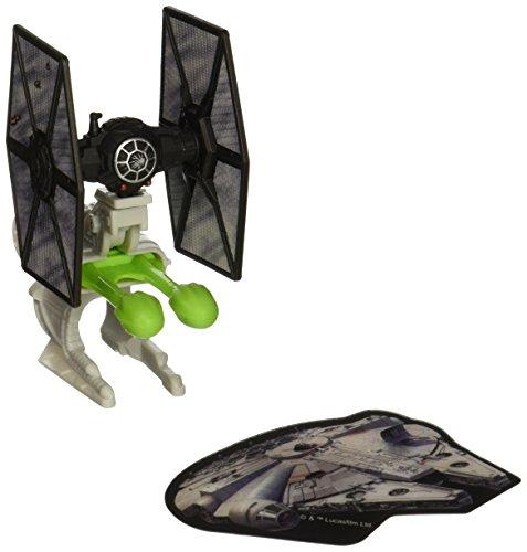 Hot Wheels Star Wars Blast Attack Starship Vehicle (Episode 7 Villain Starfighter Battle Damage) by Hot Wheels
