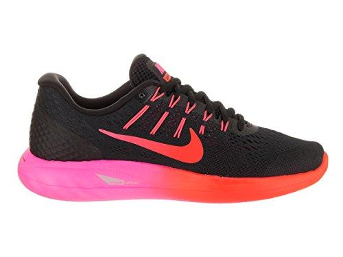 Nike 843726-006 Scarpe de trail running, Donna, Nero Nero/Rosso