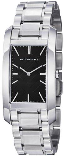 BURBERRY BU9401 - Reloj para mujeres, correa de acero inoxidable color plateado