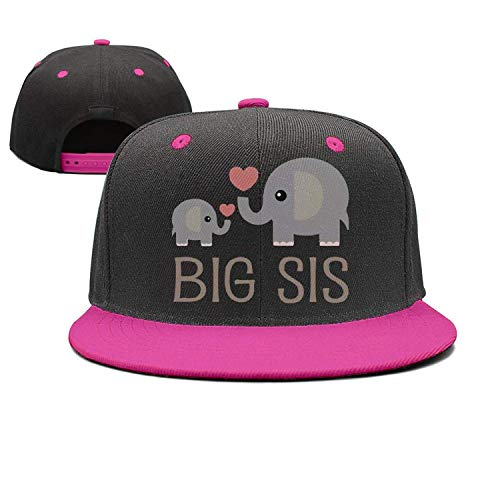 Preisvergleich Produktbild KKAIYA Girls Elephant Big Sister Mesh Trucker Baseball Cap Hat 4-13 Years