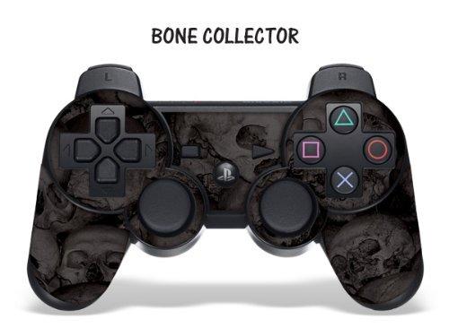 Schutzfolie für Playstation 3 Controller- Bone Collector schwarz