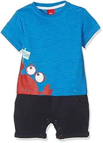 s.Oliver Baby-Jungen Hose Overall, Blau (Blue 5527), 86