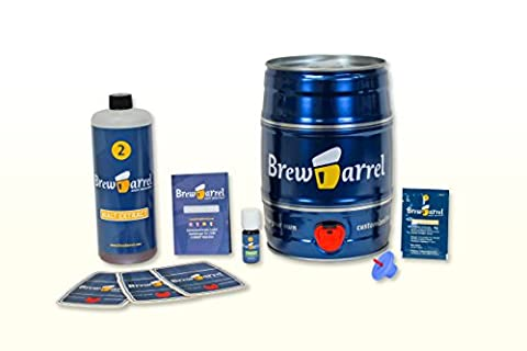 Home Brewing Starter Kit - Lager - brew beer in just 1 week