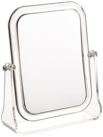 Miroir cosmétique sur pied Noci - repliable,