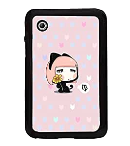 Fuson Designer Back Case Cover for Samsung Galaxy Tab 2 (7.0 Inches) P3100 (Animated Funny Imaginary Charecter Girly)
