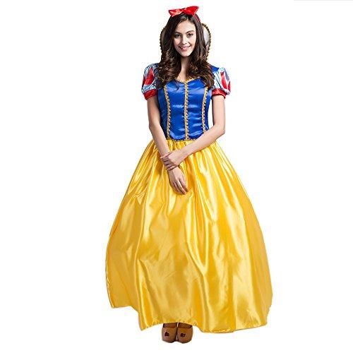 sney Mädchen Prinzessin Kleid Erwachsene und Kinder Kleid Party Cosplay Kostüm (Disney Bekleidung Für Erwachsene)