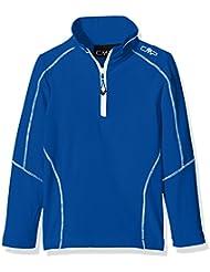 CMP Camiseta técnica de esquí para chico, niño, Funktionsshirt Ski, azul cobalto, 4 años (104 cm)