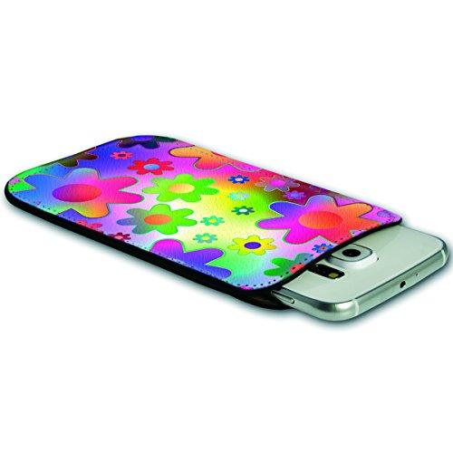 Sleeve Style Handy Tasche Case Schutz Hülle Schale Motiv Etui für Apple iPhone 6 / 6S - Sleeve UBS17 Design12 Design 12
