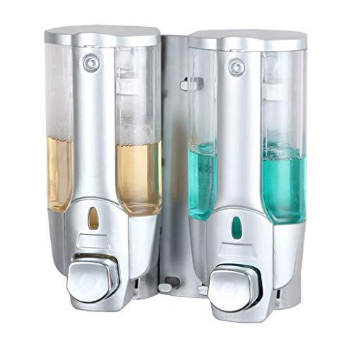 Precision Clean Refills (RLJJCS Seifenspender wandmontierte Pumpe Silber Shampoo Dusche Händedesinfektionsgel Flasche für Hotel Küche Bad öffentlichen Ort 350x2 Händedesinfektionsbox)
