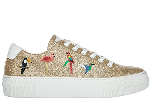 MOA Master of Arts Chaussures Baskets Sneakers Femme en Cuir Victoria Tropical o