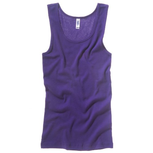Bella Canvas Baby-Rippe Tank Top Team Lila XL