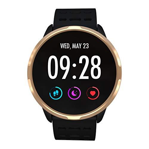 Altsommer Smart Watch, mit Wasserdichtem IP67 Herz Frequenz Messer Smartwatch Aktivitätstracker Pulsuhren Schrittzaehler Uhr für Damen Herren für iOS Android - Sport im Freien für Kalorien Damen-messer