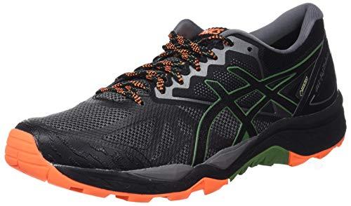 Asics Gel-Fujitrabuco 6 G-TX, Zapatillas de Running para Asfalto para Hombre, Gris (Carbon/Black 020), 42 EU