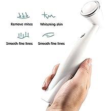 PYRUS Rejuvenecimiento de la piel con pilas Rejuvenecimiento facial de la máquina de limpieza con terapia de ozono (blanco)