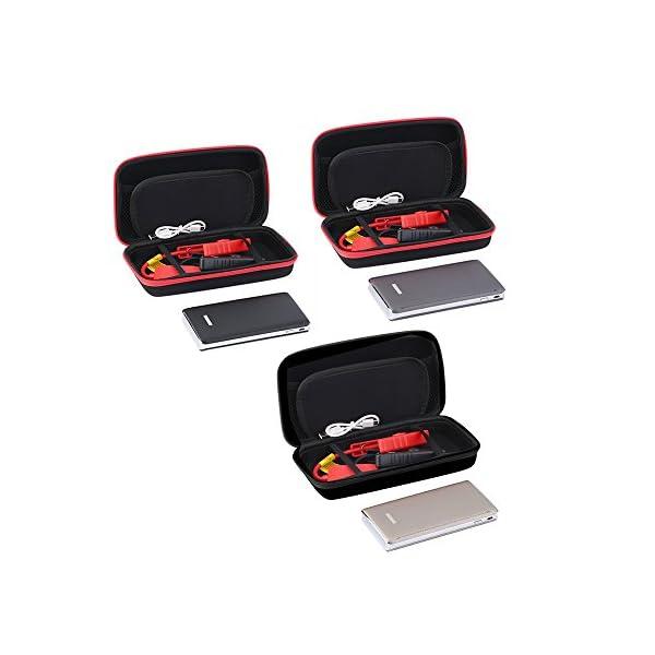 Motor de arranque de batería portátil para coche, 30000mAh, cargador de emergencia, reserva de energía con linterna LED para teléfono móvil, tableta y más