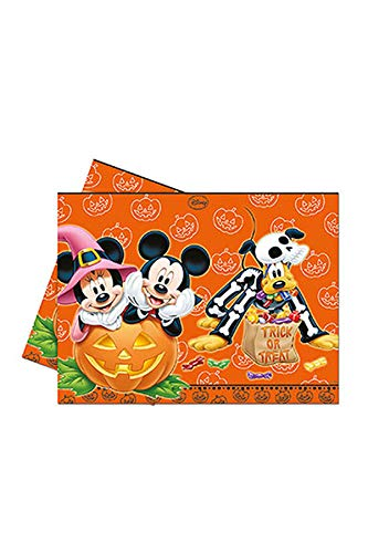 aus Tischdecke Mickey Halloween, 120 x 180 cm, orange ()