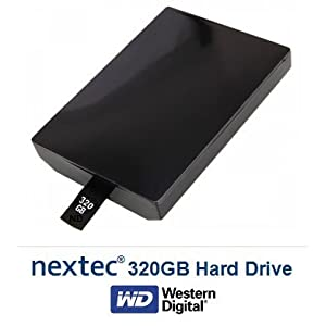 Xbox 360 SLIM (320 GB) Hard Disk Drive HDD for Microsoft Xbox 360 Console (SLIM Console Only/Not Fat)