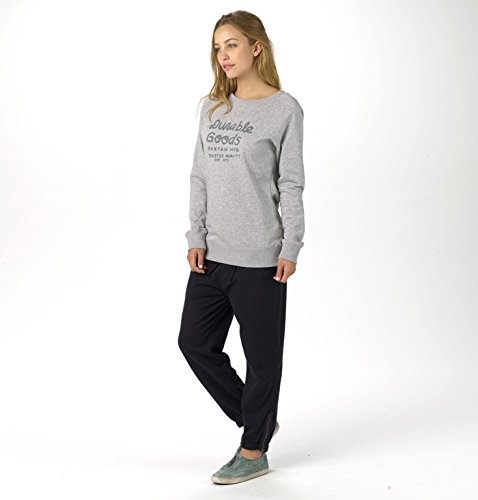 Burton Damen Pullover Dalphine Crew Gray Heather