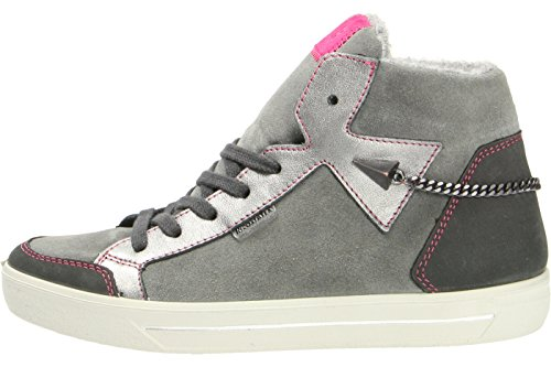 Ricosta Gisa, Baskets Basses Fille Gris