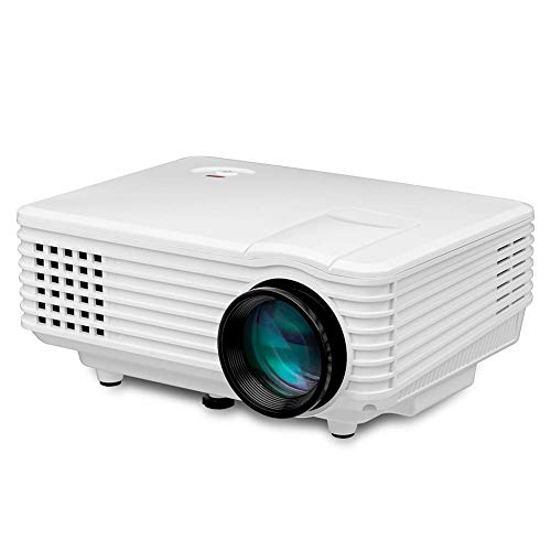 Mini Projector, LED Video Projector Multimedia Home Theater Projector, 1080P HD Video Projector Home Media Player Projector for Android, Supports HDMI / VGA / USB / U-Disk. Infocus Portable Projection Screen