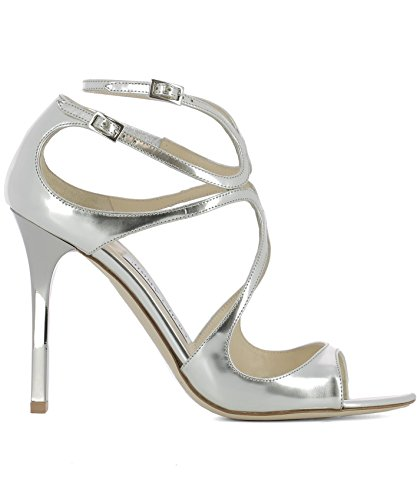 Jimmy-Choo-Womens-LANGMLESILVER-Silver-Leather-Sandals