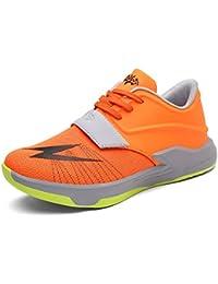 wholesale dealer ff70b 8fd65 FHTD Herren Basketball-Schuhe fallen neue High-Top Sneakers atmungsaktiv  Outdoor rutschfeste stoßdämpfende…