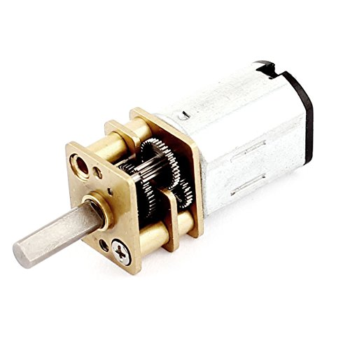 12V 80RPM 5Kg.cm elektrische Geschwindigkeitsreduzierung DC-Getriebemotor für DIY Spielzeug
