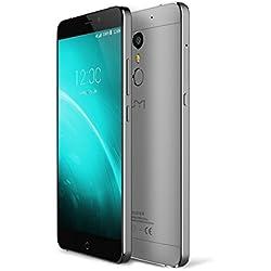 NEUESTE veröffentlicht UMI super - Premium Android 6.0 Smartphone 5,5 Zoll FHD Dual-SIM-4GB RAM 32GB ROM MTK6755 2.0GHz Schwarz