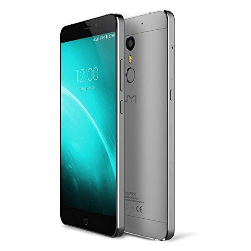 UMI super - premium Android 6.0 Smartphone 5.5 pulgadas FHD doble SIM 4 GB de RAM 32 GB ROM MTK6755 2,0 GHz Negro