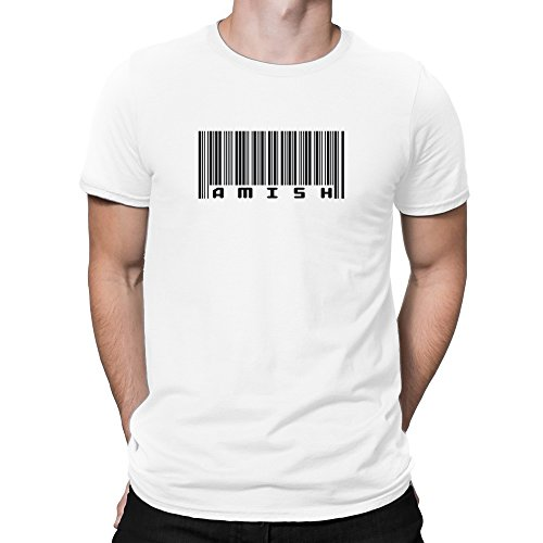 Teeburon BAR CODE Amish T-Shirt (Bar Amish)