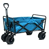 Jardin Sports Cart Pliable Pliable Portable Heavy Duty Extérieur Utilitaire Wagon Pull Wagon Main Panier Shopping Chariots Camping