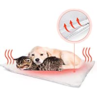 Fyore Manta autocalentable para Gatos & Perros Manta térmica Calentar Mascota Cobija Alfombra de Cama para Mascotas Auto calefacción para Mascotas, Perros y Gatitos para Viajes o casa