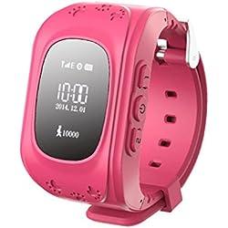 Q50 Smartwatch Reloj Infantil Pulsera Inteligente GPS / LBS Localizador Alarma para Seguridad de Niños