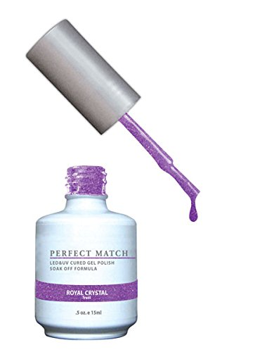 LECHAT Perfect Match Nail Polish, Royal Crystal, 0.500 Ounce by LECHAT