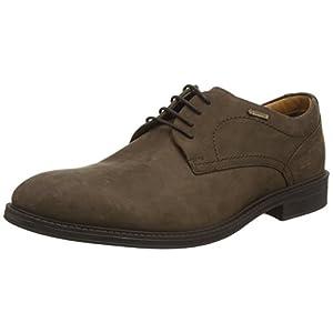 Clarks ChilverWalkGTX – Zapatos con Cordones de Cuero Hombre