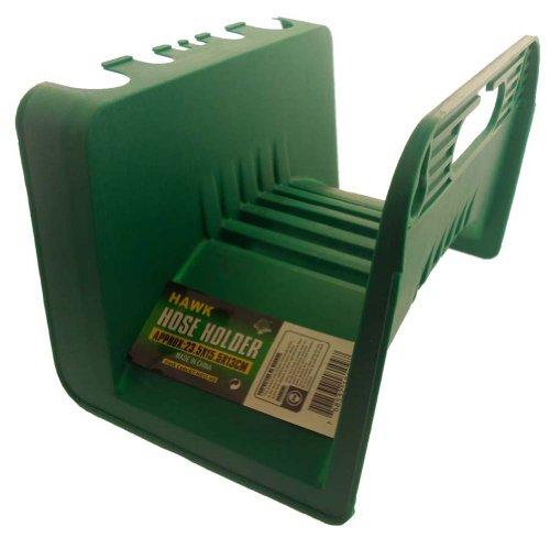 Hawk 23,5 x 15,2 x 12,7 cm Plastique, Style Enveloppant Support pour Tuyau d'arrosage