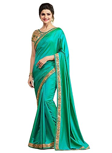 Shiroya Brothers Women's Silk Saree With Blouse Piece (Sb_Sari_7789_Multi-Coloured)