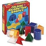 Learning Resources Folding Geometric Shapes, games, names, pictures,, geometrical, 3d bébé, nourrisson, enfant, jouet