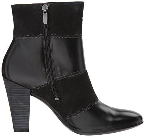 Ecco Shape 75, Stivali Donna Nero (Black/black)