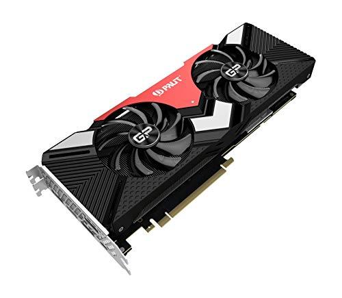 Palit NE62080S20P2-180A Grafikkarte GeForce RTX 2080 8 GB GDDR6 - Grafikkarten (GeForce RTX 2080, 8 GB, GDDR6, 256 Bit, 7680 x 4320 Pixel, PCI Express x16 3.0)
